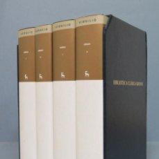 Libros: ESTUCHE POESIA LATINA (4 VOLS.) HORACIO , VIRGILIO. Lote 246142010