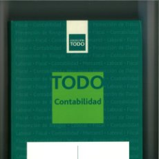 Livres: TODO CONTABILIDAD 2011-2012. EDITORIAL CISS, GRUPO WOLTERS KLUWER.. Lote 246832435