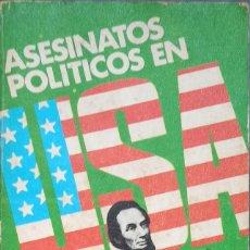 Libros: ASESINATOS POLITICOS EN USA, MIKE SALERNO - DEBOLSILLO - TAPA BLANDA. Lote 247169685