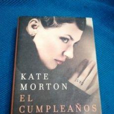 Libros: EL CUMPLEAÑOS SECRETO, KATE MORTON. Lote 247599950