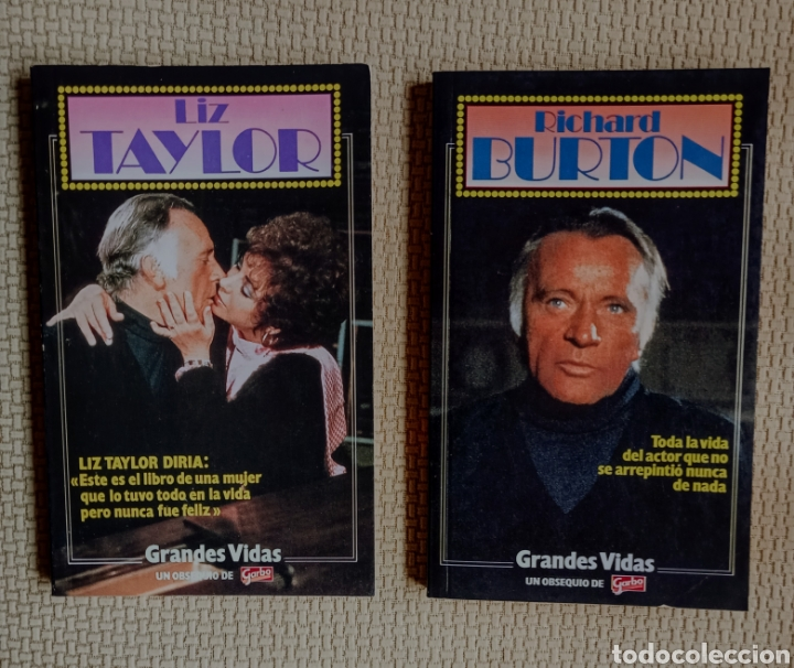 2 LIBROS GRANDES VIDAS (Libros nuevos sin clasificar)
