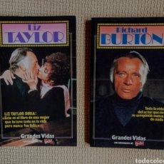 Libros: 2 LIBROS GRANDES VIDAS. Lote 247993825
