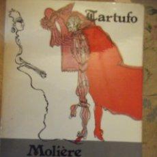 Libros: TARTUFO DE MOLIERE. Lote 249008880