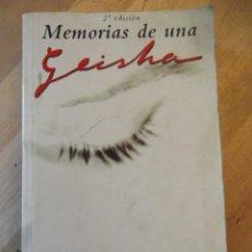 Libros: MEMORIAS DE UNA GEISHA DE ARTURO GOLDEN (BEST SELLER MUNDIAL ). Lote 249011990