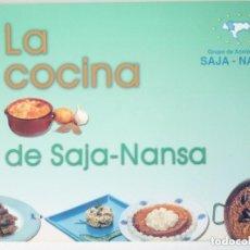 Libros: LA COCINA DE SAJA-NANSA . GRUPO DE ACCIÓN LOCAL SAJA-NANSA. Lote 249258520