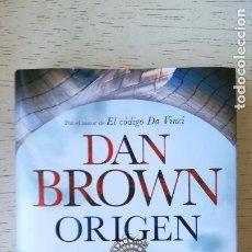 Livres: ORIGEN/DAN BROWN //EDIT: PLANETA. Lote 250343995