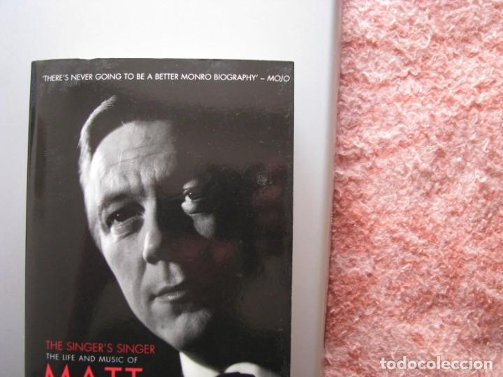 Libros: Libro Matt Monro, The singer´s singer, biografía de Michele Monro, edición inglés, nuevo a estrenar - Foto 3 - 252570855