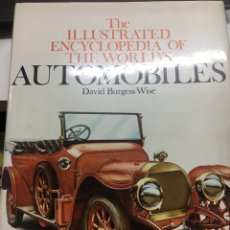 Libros: THE ILLUSTRATED ENCYCLOPEDIA OF THE WORDLS AUTOMOBILES. Lote 253113260