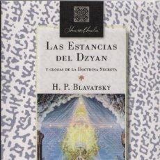 Livres: LAS ESTANCIAS DE DZYAN Y GLOSAS DE LA DOCTRINA SECRETA.H.P.BLAVATSKY.BIBLOK.1ªED.2017.. Lote 253427965