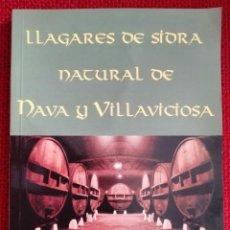 Livros: LLAGARES DE SIDRA NATURAL DE NAVA Y VILLAVICIOSA. -. Lote 253604230