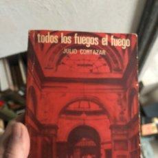 Livros: JULIO CORTÁZAR TODOS LOS FUEGOS EL FUEGO EDITORIAL SUDAMERICANA. Lote 253820345