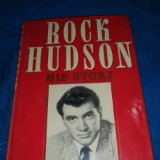 Libros: ROCK HUDSON HIS STORY, AND SARA DAVIDSON. Lote 253906600