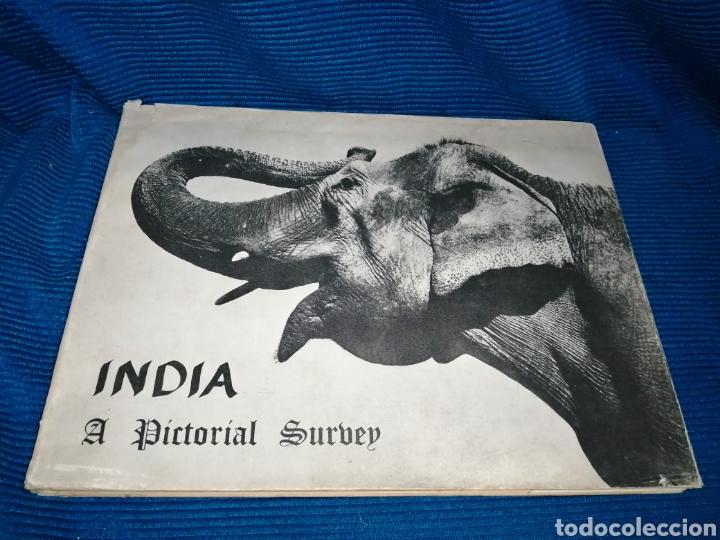 LIBRO INDIA PICTORIAL SURVEY, 1960, THE PUBLICATIONS DIVISION MINISTRY OF INFORMATION (Libros nuevos sin clasificar)
