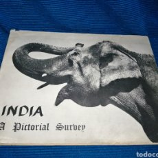 Libros: LIBRO INDIA PICTORIAL SURVEY, 1960, THE PUBLICATIONS DIVISION MINISTRY OF INFORMATION. Lote 253936445