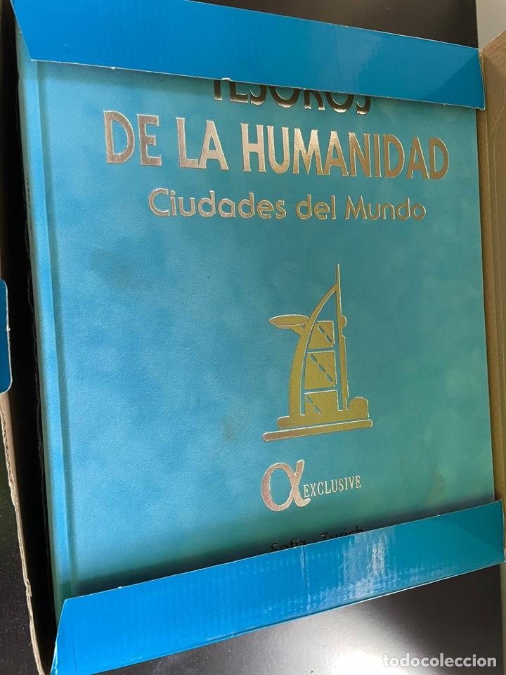 Libros: Tesoro de la humanidad edición de lujo en terciopelo sin estrenar - Foto 2 - 254156840