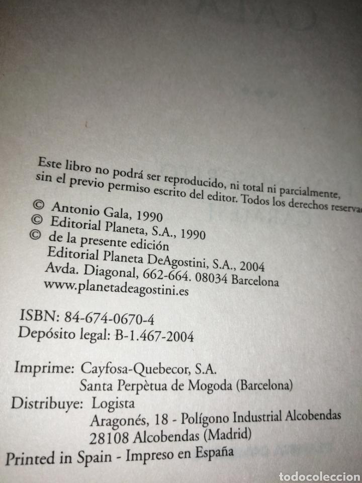 Libros: EL MANUSCRITO CARMESÍ. PREMIO PLANETA 1990.PLANETA DE AGOSTINI, TAPA PIEL - Foto 2 - 254813280