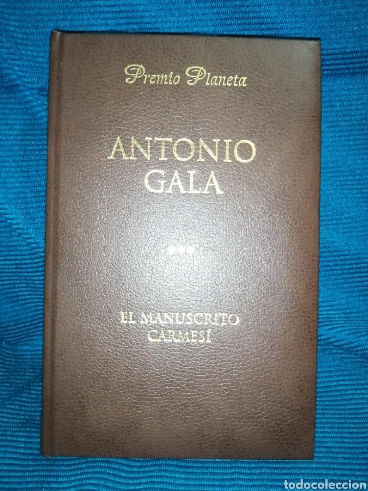 EL MANUSCRITO CARMESÍ. PREMIO PLANETA 1990.PLANETA DE AGOSTINI, TAPA PIEL (Libros nuevos sin clasificar)