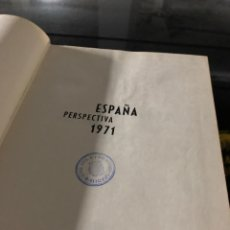 Libros: ESPAÑA PERSPECTIVA 1971. Lote 255594765