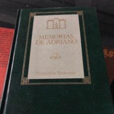 Libros: MEMORIAS DE ADRIANO MARGUERITE YOURCENAR. Lote 255600825