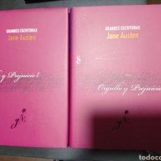 Libros: ORGULLO Y PREJUICIO I II . JANE AUSTEN , DOS LIBROS. Lote 256063750