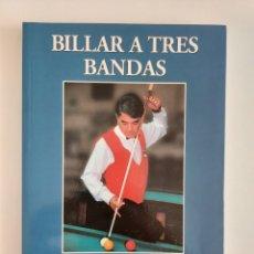 Libros: LIBRO BILLAR A TRES BANDAS DE JOSE MARÍA QUETGLAS. Lote 257284045