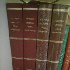Libros: HISTORIA GENERAL DE LA MASONERÍA. Lote 259984870