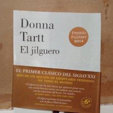 Libri: LIBRO DONNA TARTT EL JILGUERO. Lote 260303655