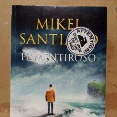 Libros: LIBRO MIKEL EL MENTIROSO. Lote 260303740