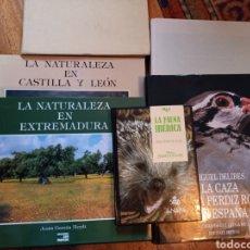 Libros: SEIS LIBROS SOBRE CAZA Y NATURALEZA. Lote 260621935