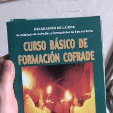 Libros: DIÓCESIS ORIHUELA ALICANTE CURSO BÁSICO DE FORMACIÓN COFRADE. Lote 260681770