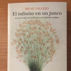 Livros: EL INFINITO EN UN JUNCO, IRENE VALLEJO. Lote 261684555