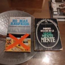 Libros: DOS LIBROS ANTIGUOS. Lote 262144000
