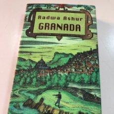 Livres: RADWA ASHUR GRANADA EDICIONES DEL ORIENTE Y DEL MEDITERRÁNEO. Lote 262241690