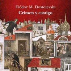 Livros: CRIMEN Y CASTIGO, DOSTOIEVSKI. ALBA. Lote 262531095
