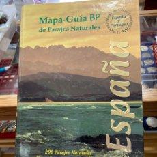 Libros: MAPA GUÍA BP PARAJES NATURALES. Lote 263012280