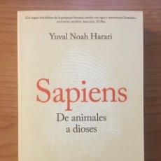 Libros: SAPIENS, YUVAL HARARI. Lote 263045215