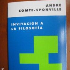 Libros: LIBRO - INVITACION A LA FILOSOFIA - ED. PAIDOS - ANDRE COMTE-SPONVILLE - NUEVO. Lote 263187170