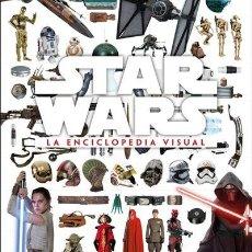 Libros: STAR WARS LA ENCICLOPEDIA VISUAL EDICIONES DK ESTADO NUEVO PRECINTADO. Lote 264797399