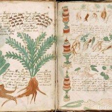 Libros: MANUSCRITO VOYNICH Y CARTA MARCI. DESCONOCIDO. FACSÍMIL NUMERADO. Lote 264812849