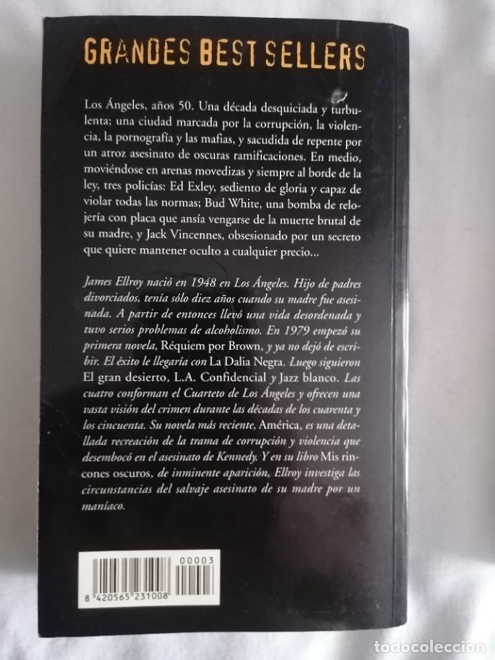 Libros: L.A. CONFIDENTIAL - JAMES ELLROY - - Foto 2 - 266403598