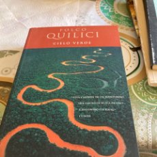 Libros: LIBRO CIELO VERDE. Lote 267007604