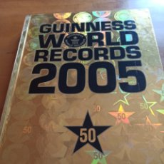 Libros: GUINNES WORLD RECORDS 2005. IMPECABLE,. Lote 267069404