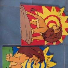 Libros: LIBROS COLOREAR NUEVOS A4 EL REY LEON DISNEY PACK DE 2. Lote 267473654