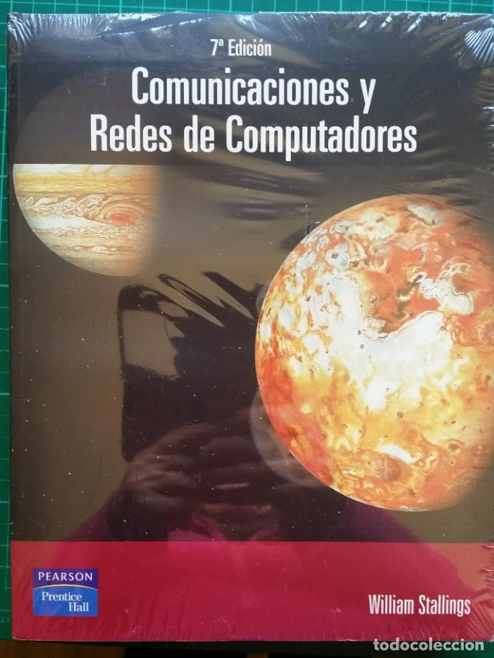 COMUNICACIONES Y REDES DE COMPUTADORES - WILLIAM STALLINGS NUEVO PRECINTADO (Libros nuevos sin clasificar)