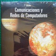 Libros: COMUNICACIONES Y REDES DE COMPUTADORES - WILLIAM STALLINGS NUEVO PRECINTADO. Lote 268892344