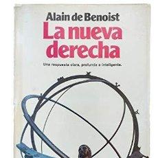 Libros: LA NUEVA DERECHA. UNA RESPUESTA CLARA, PROFUNDA E INTELIGENTE BENOIST, ALAIN DE PLANETA 1982 - 236. Lote 269370303