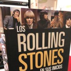 Libros: LOS ROLLING STONES EN SUS INICIOS - BLUEMA - RENT REJ GRAN FORMATO. Lote 269846423