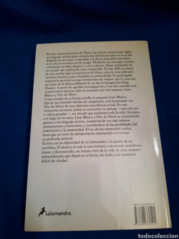 Libros: LIBRO EL ABANICO DE SEDA, LISA SEA, NARRATIVA SALAMANDRA, 1°EDICIÓN 2006 - Foto 4 - 269977938