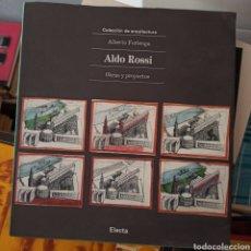 Libros: ALDO ROSSI. OBRAS Y PROYECTOS (ALBERTO FERLENGA) EDICTORIAL ELECTA 1993. Lote 270203463