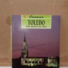 Libros: CONOCER TOLEDO. Lote 270922143